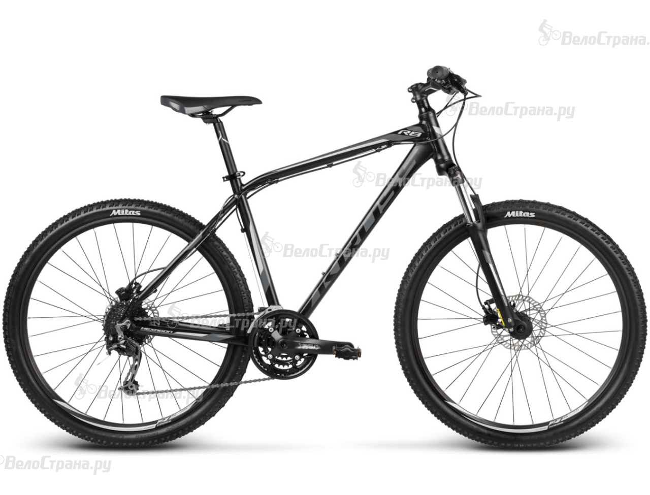 Велосипед Kross Hexagon R8 (2017) велосипед r toys galaxy лучик vivat 10 8 красный трехколёсный
