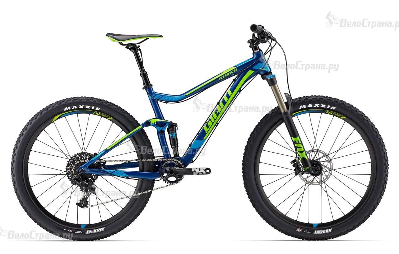 Велосипед Giant Stance 1 (2017) giant stance 27 5 2 2015 black cyan