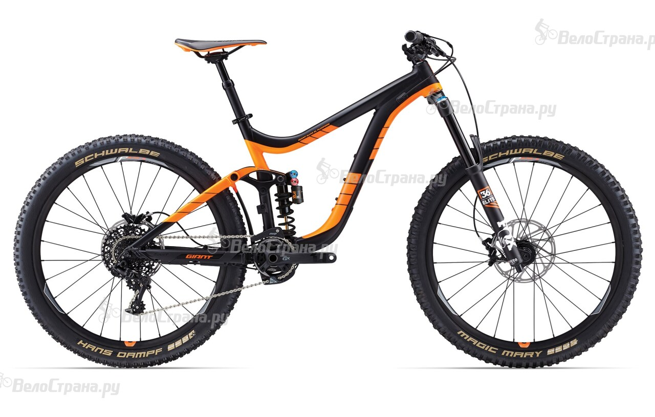 Велосипед Giant Reign SX (2017)