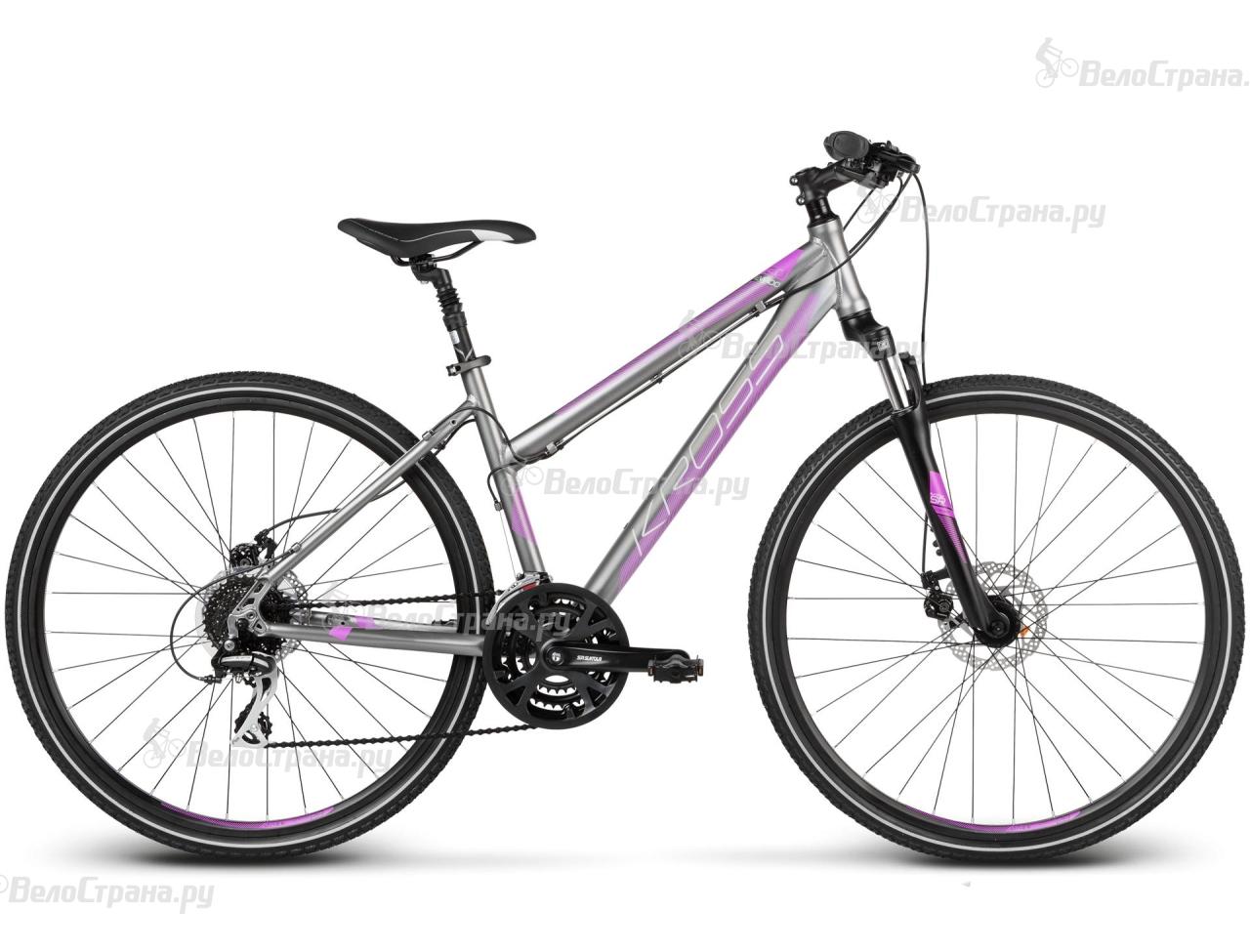 Велосипед Kross Evado 3.0 Lady (2017) велосипед kross evado 1 0 lady 2017