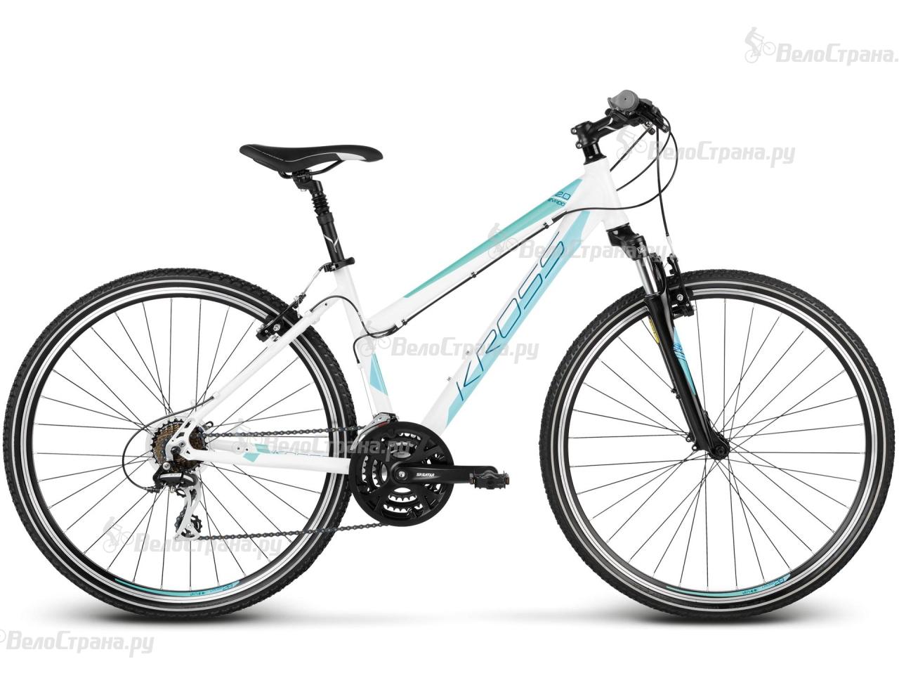 Велосипед Kross Evado 2.0 Lady (2017) велосипед kross evado 6 0 2016