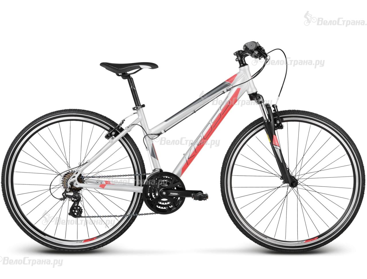 Велосипед Kross Evado 1.0 Lady (2017) велосипед kross evado 6 0 2016