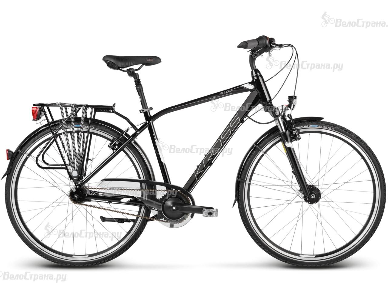 Велосипед Kross Trans Sander (2017) велосипед kross trans sander 2015