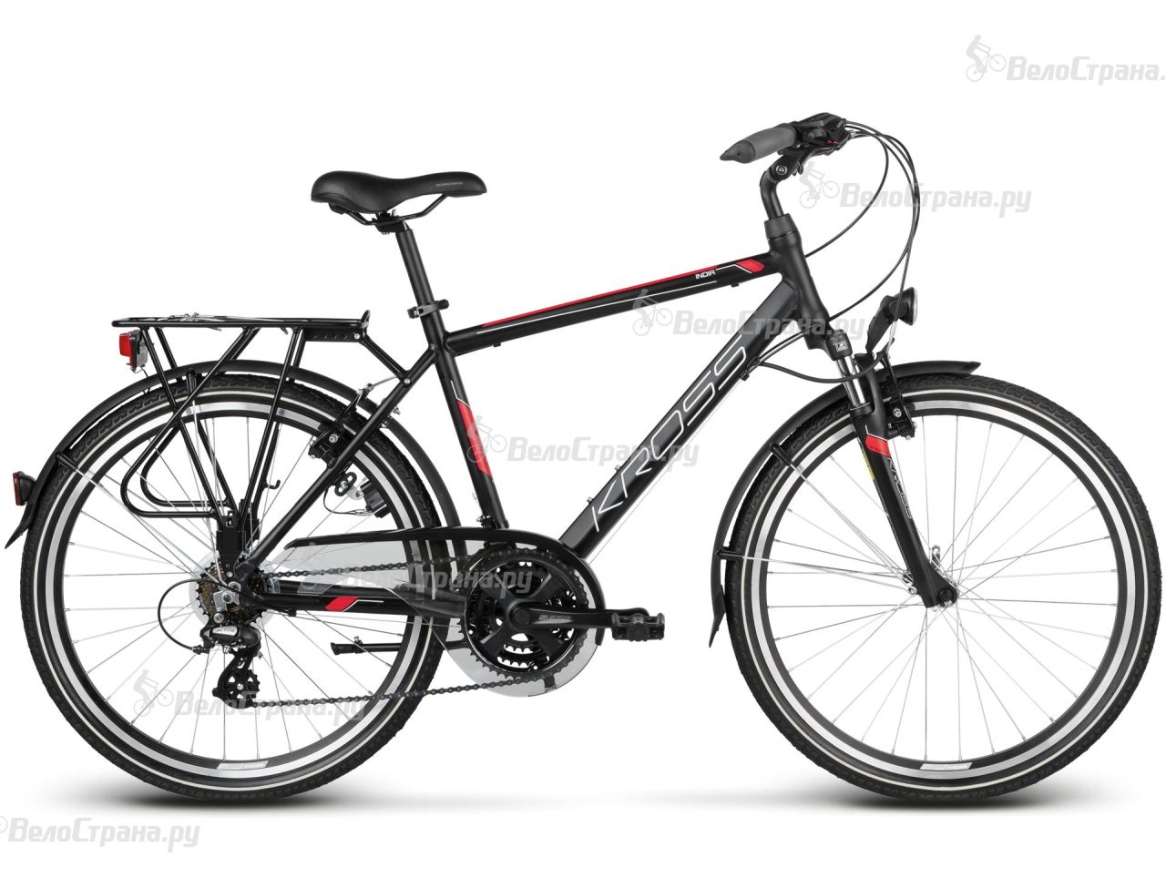 Велосипед Kross Trans India (2017)