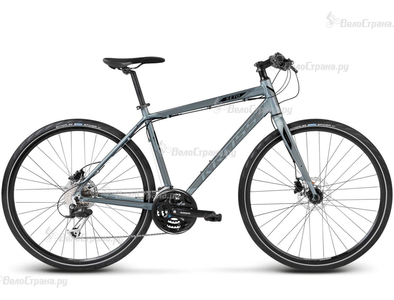 Велосипед Kross Seto (2017) велосипед kross lea f2 2017