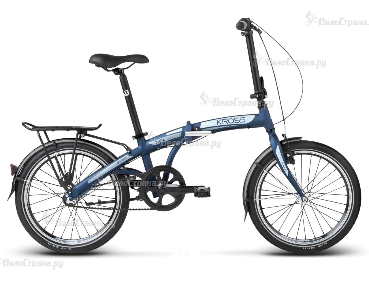 Велосипед Kross Flex 3.0 (2017) велосипед kross flex 2 0 2015