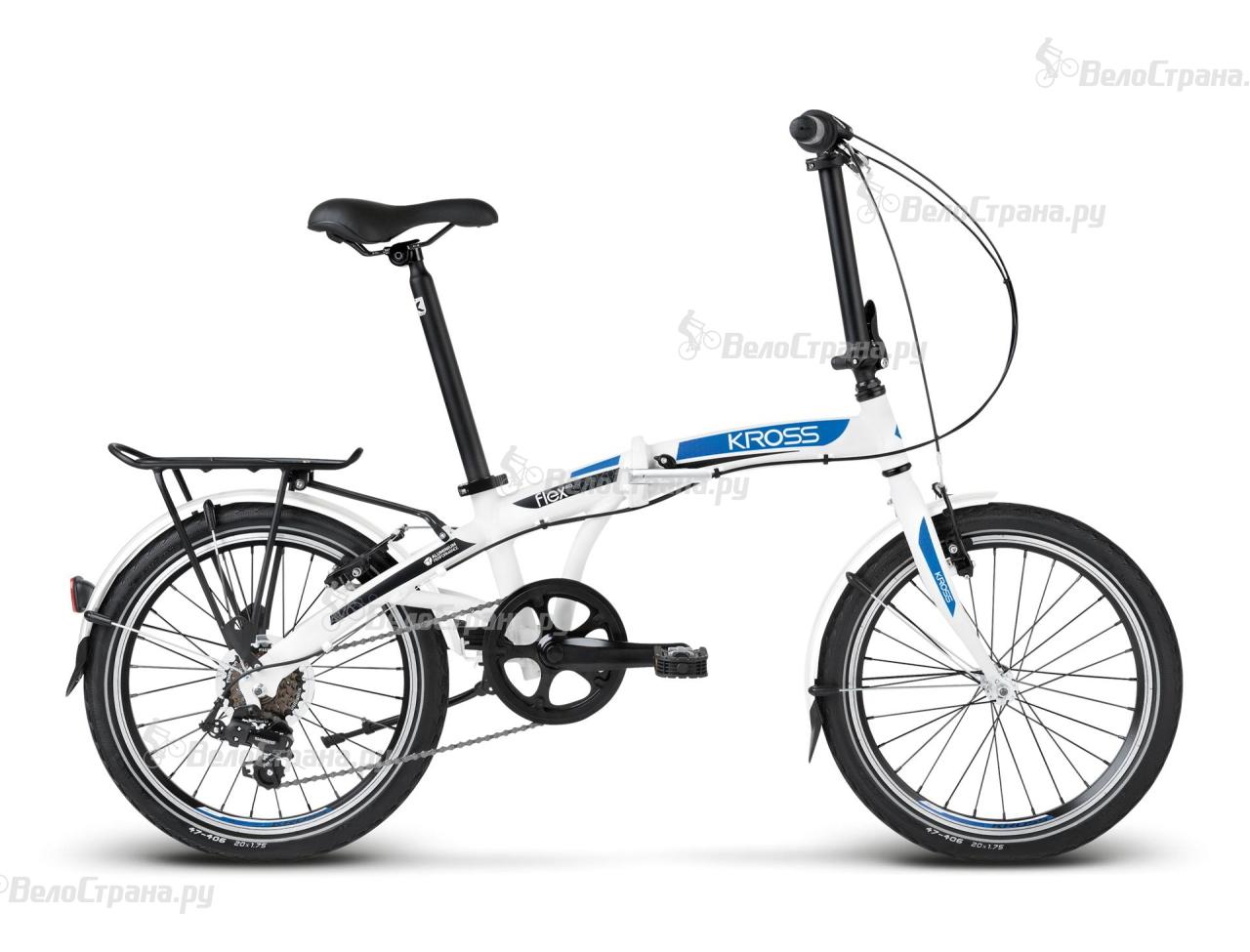 Велосипед Kross Flex 2.0 (2017) велосипед kross flex 2 0 2015
