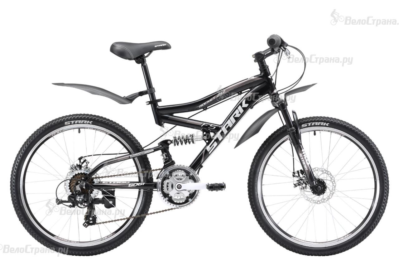 Велосипед Stark Rocket 24.2 FS D (2017) велосипед challenger desperado fs 26 d сине оранжевый 18