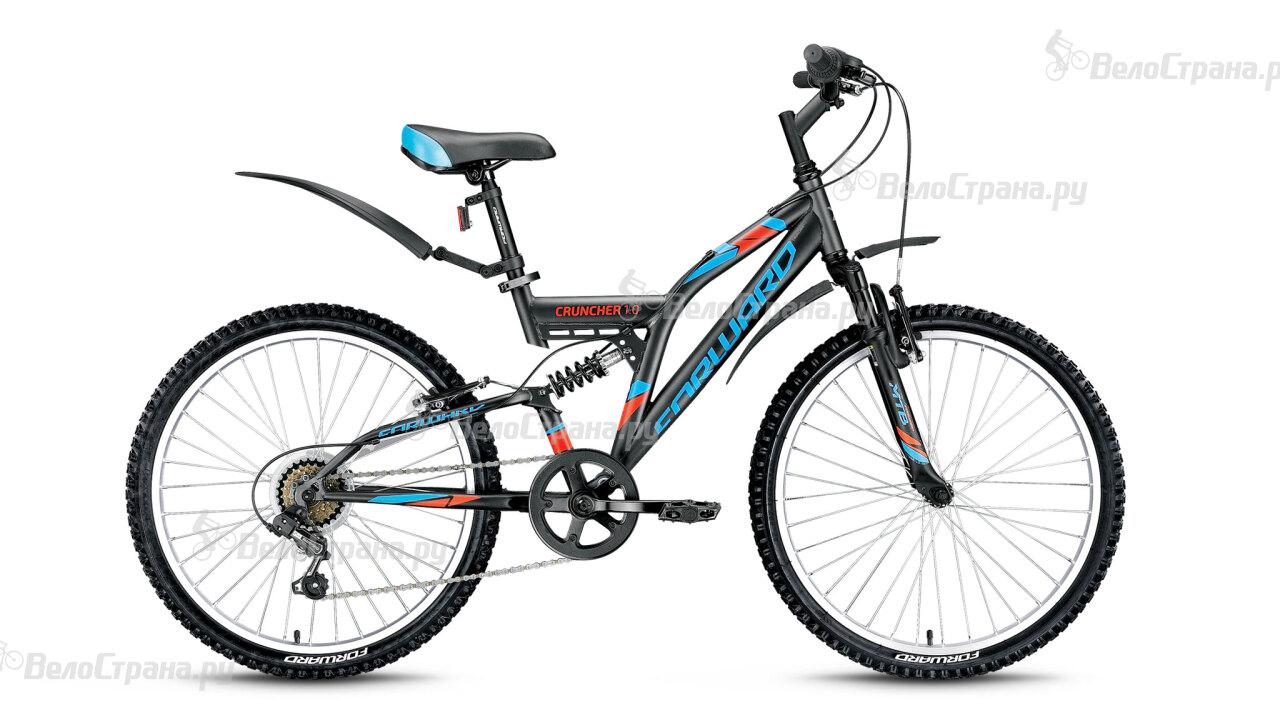 Велосипед Forward Cruncher 1.0 (2016) велосипед forward terra 1 0 2016 18 navy white