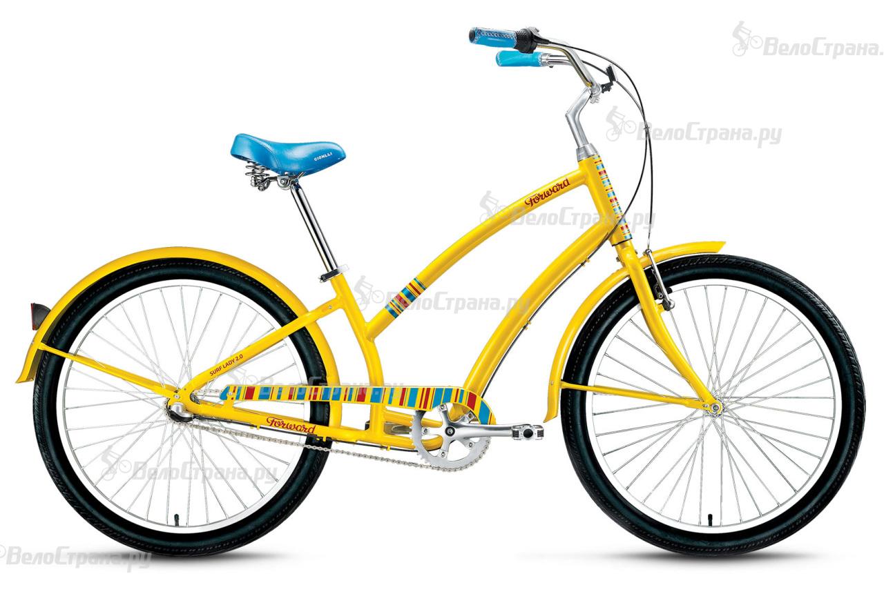 Велосипед Forward Surf Lady 2.0 (2016) велосипед forward terra 1 0 2016 18 navy white