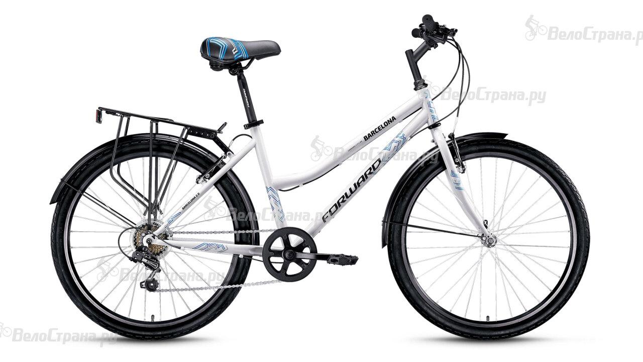 Велосипед Forward Barcelona 2.0 (2016) велосипед stinger barcelona 16 green