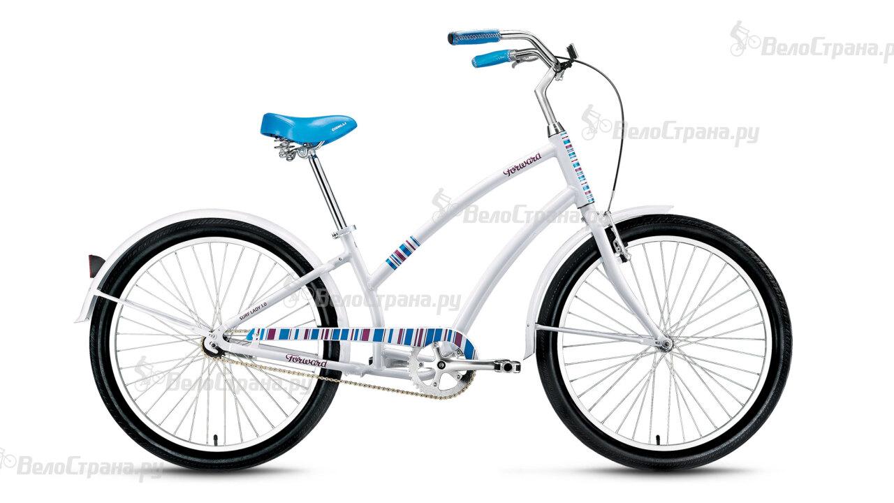 Велосипед Forward Surf Lady 1.0 (2016) велосипед forward terra 1 0 2016 18 navy white
