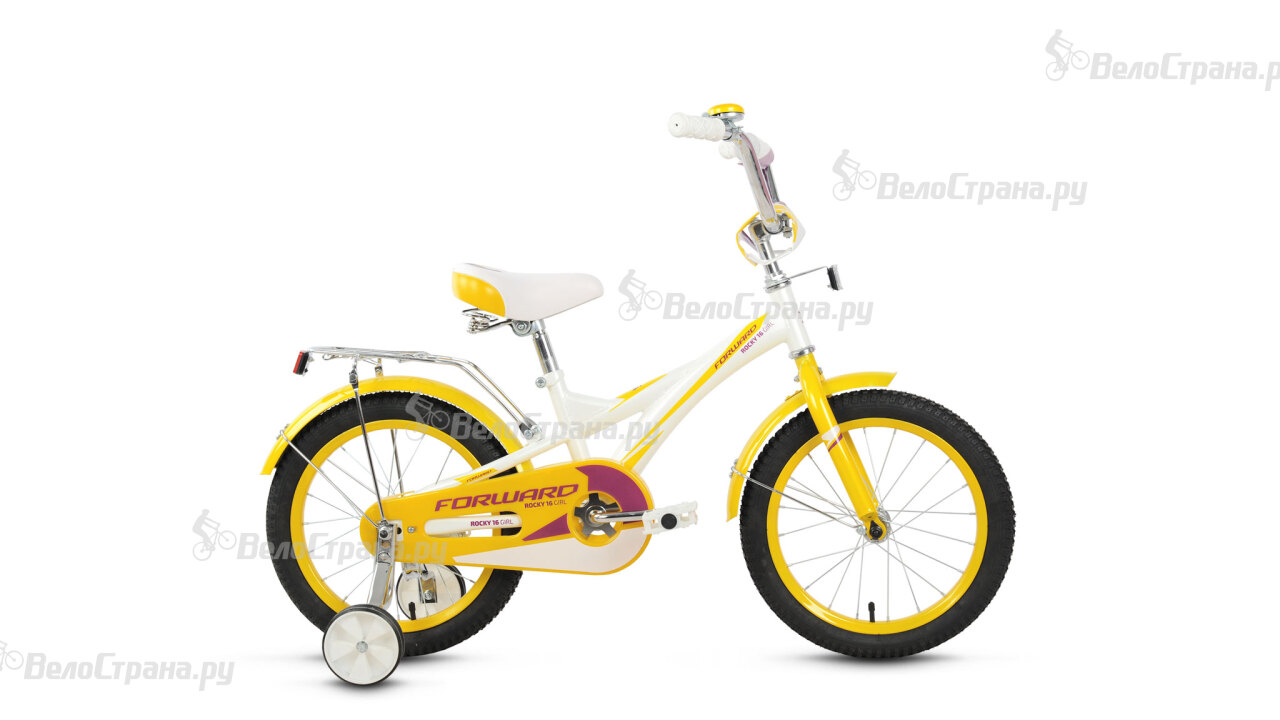 Велосипед Forward Rocky 16 girl (2016) велосипед forward volcano 1 0 2016