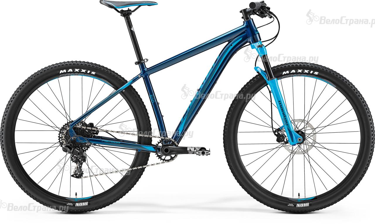 Велосипед Merida Big.Nine 600 (2017) manitou marvel comp 29
