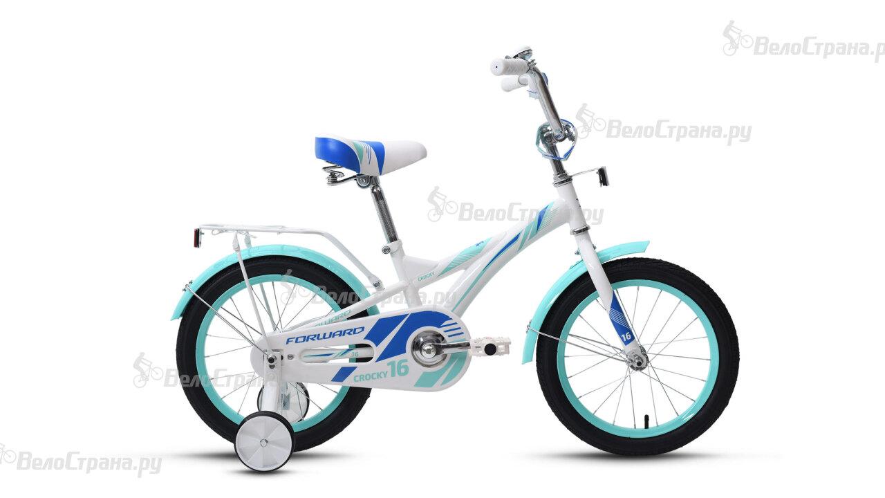 Велосипед Forward Crocky 16 girl (2017) forward valencia 1 0 16 2017 blue