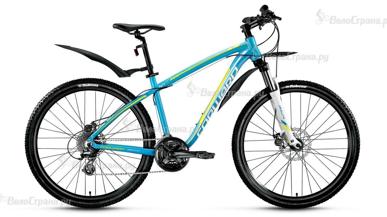 Велосипед Forward Agris Lady 2.0 27,5 disc (2017) велосипед forward agris 3 0 disc 2016