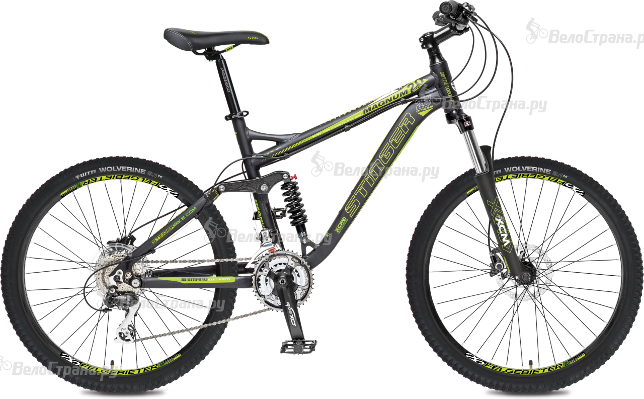 Велосипед Stinger Magnum 2.0 26 (2017) велосипед stinger cruiser l 26 2016