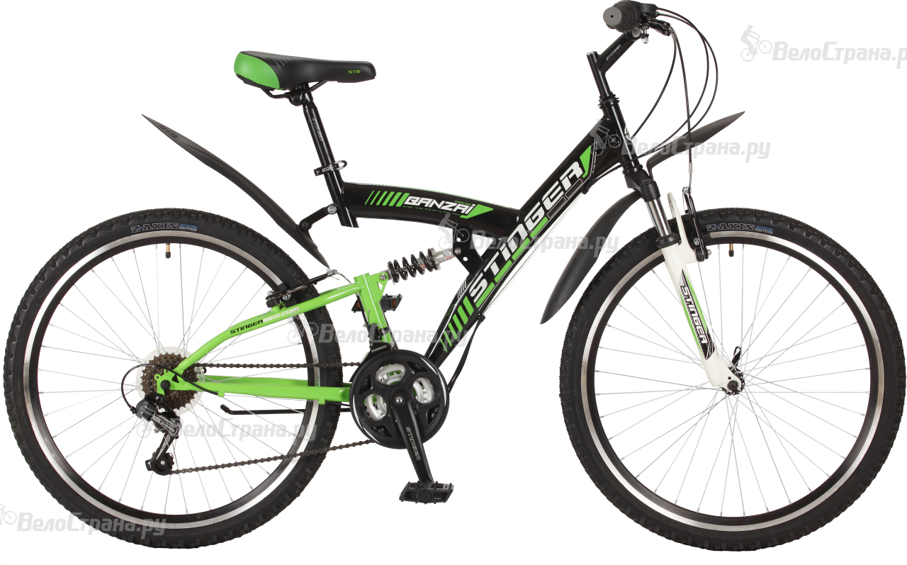 Велосипед Stinger Banzai 26 (2017) велосипед stinger cruiser l 26 2016