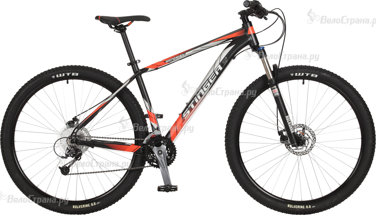 Велосипед Stinger Genesis D 29 (2017) велосипед challenger genesis lux fs 26 d черно серый 18