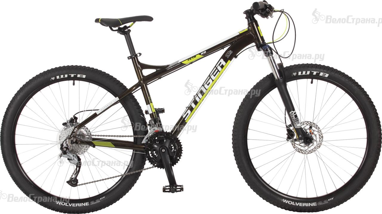 Велосипед Stinger Zeta HD 27,5 (2017) велосипед stinger zeta d 2015