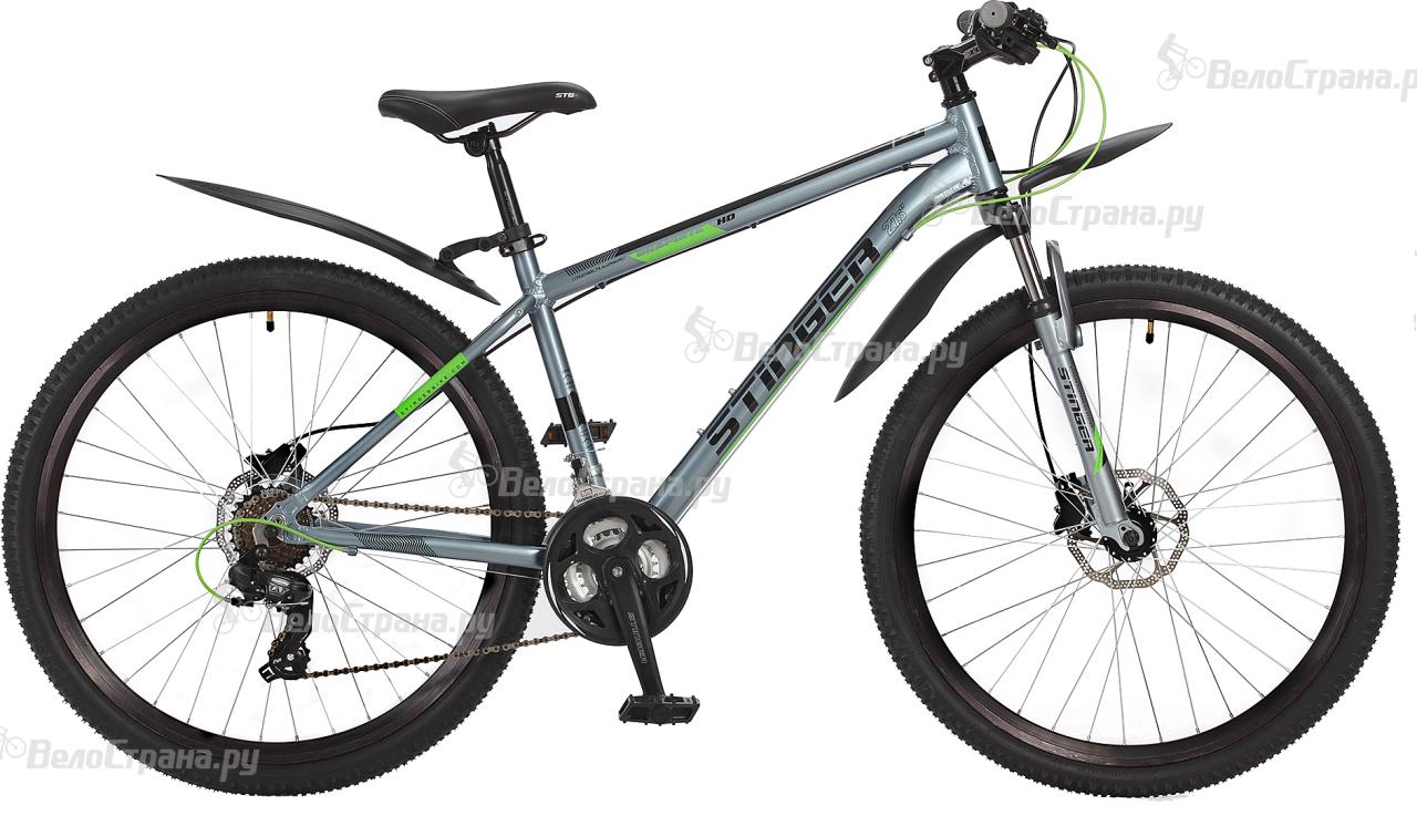 Велосипед Stinger Graphite HD 27,5 (2017) велосипед stinger omega hd 27 5 2017