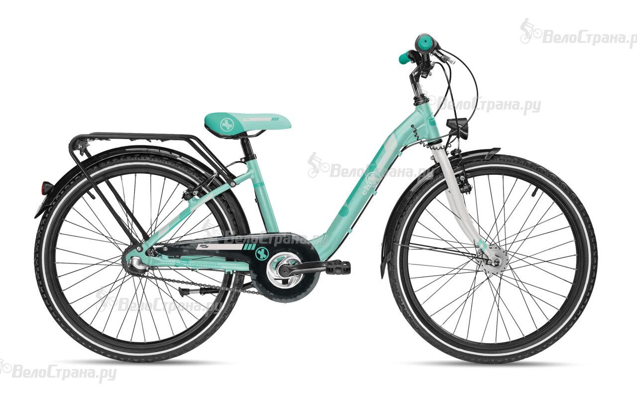 Велосипед Scool chiX comp 24 3-S (2017) велосипед scool chix pro 24 24 s 2016