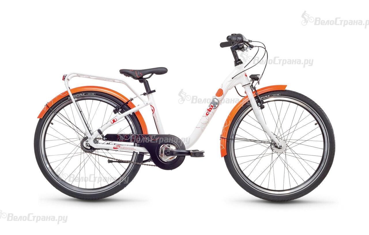 Велосипед Scool chiX pro 24 7-S (2017) велосипед scool chix pro 24 24 s 2016