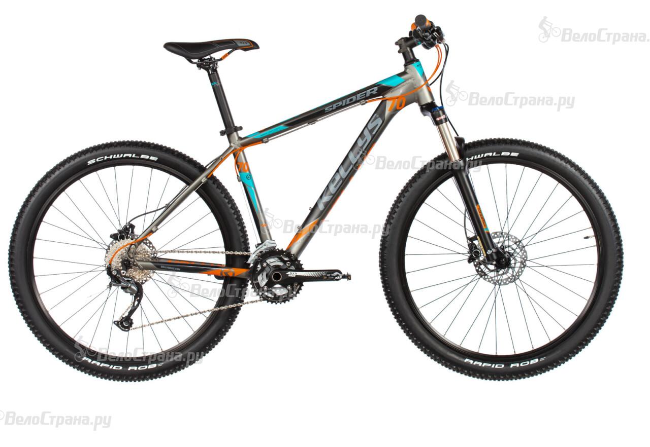 Велосипед Kellys SPIDER 70 (2017) велосипед kellys spider 50 2015