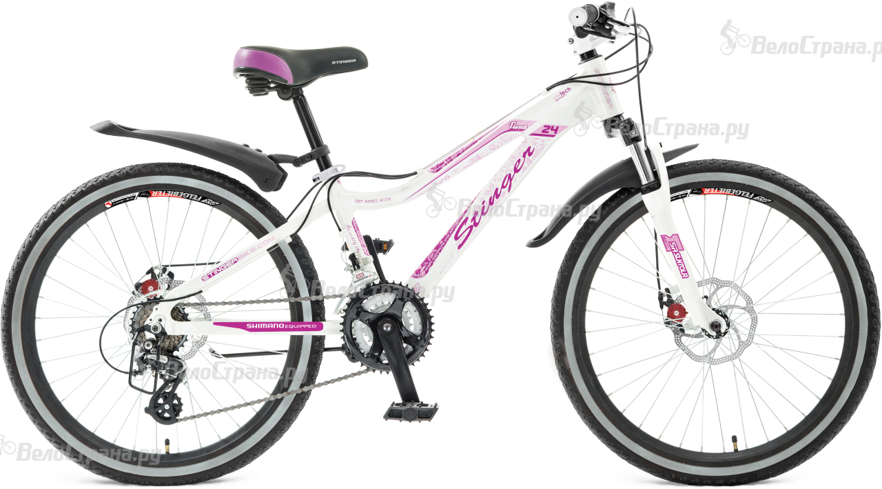 Велосипед Stinger Fiona Junior 24 (2017) велосипед stinger galaxy 24 2016
