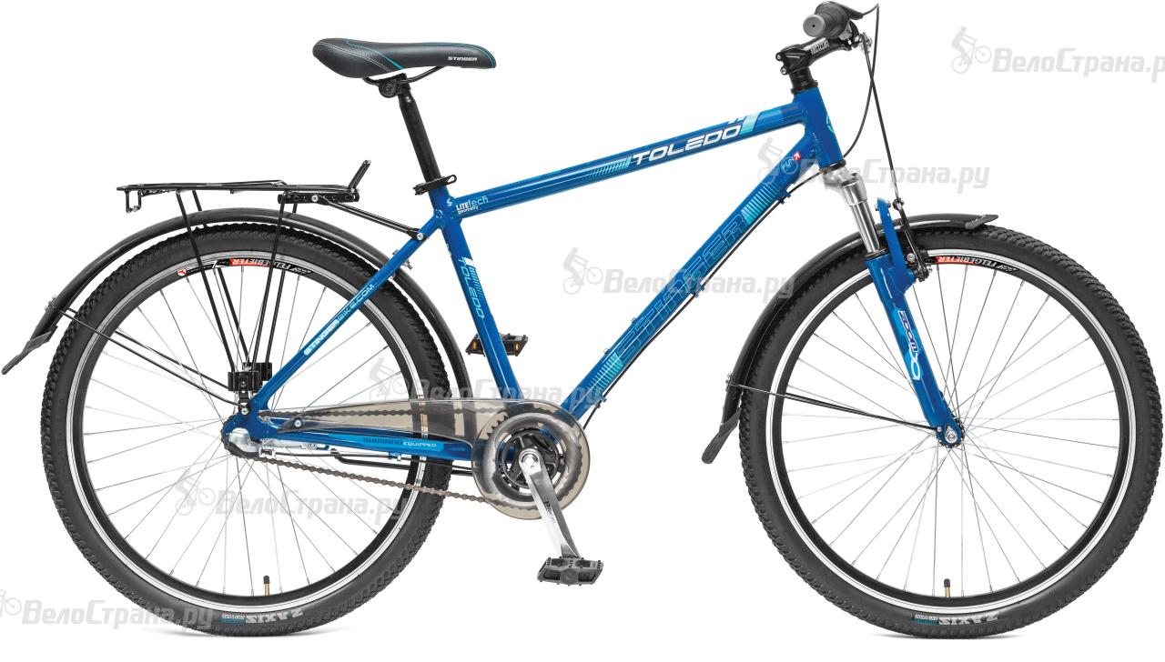 Велосипед Stinger Toledo 26 (2017) велосипед stinger python 26 2017