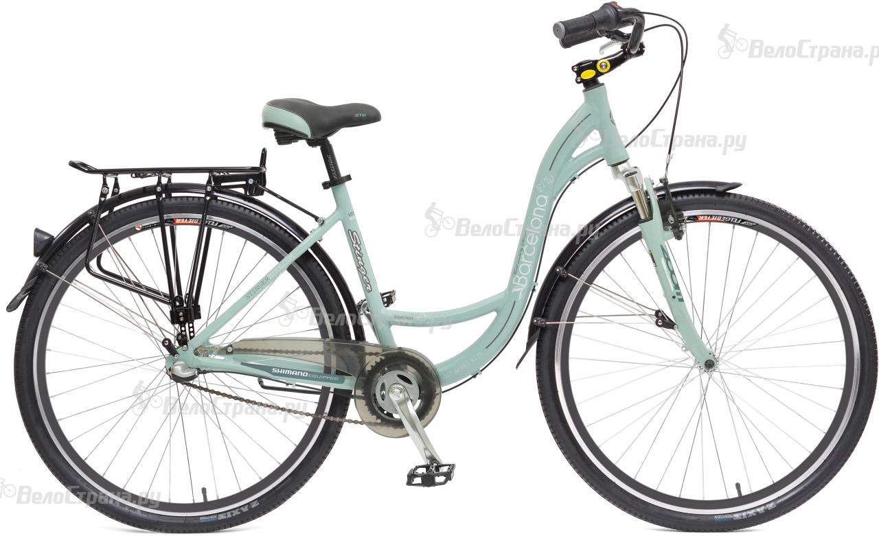 Велосипед Stinger Barcelona 28 (2017) велосипед stinger barcelona 16 green