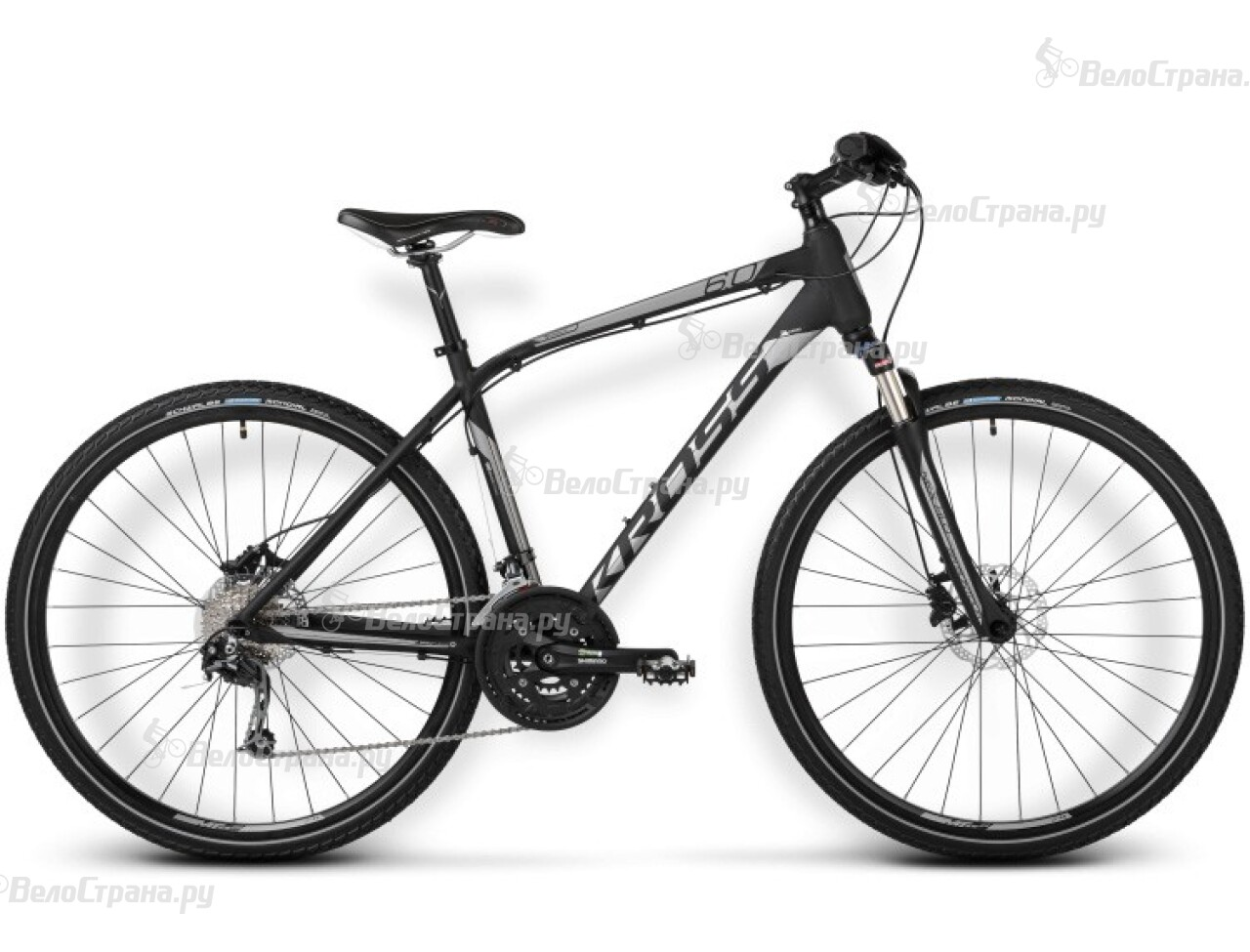 Велосипед Kross EVADO 6.0 (2016) велосипед kross evado 6 0 2016