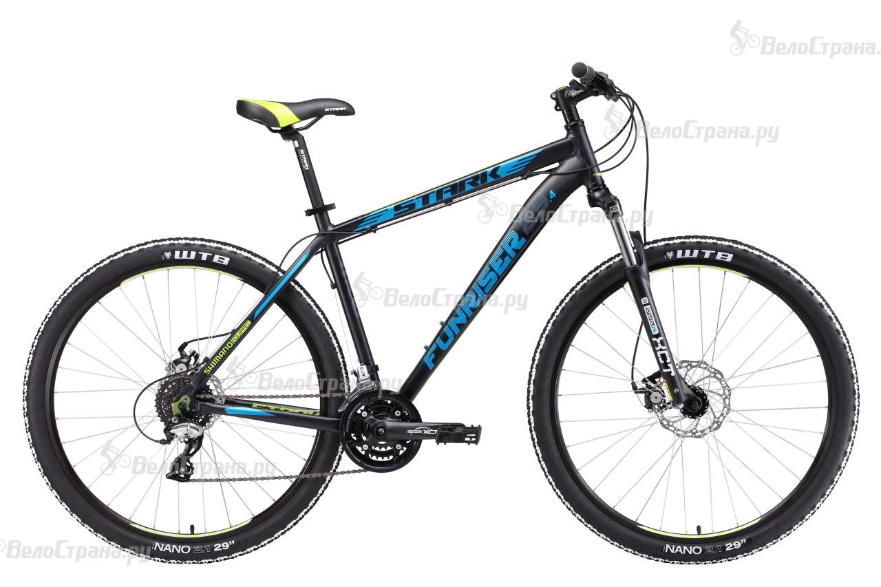 Велосипед Stark Funriser 29.4 D (2017) велосипед stark outpost 26 1 d черно зеленый 16