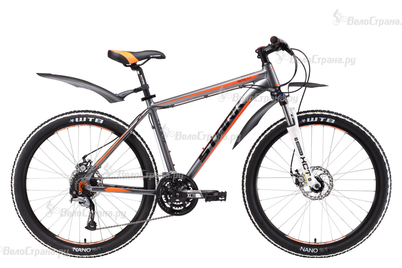 Велосипед Stark Tactic 26.5 D (2017) велосипед stark outpost 26 1 d 2018
