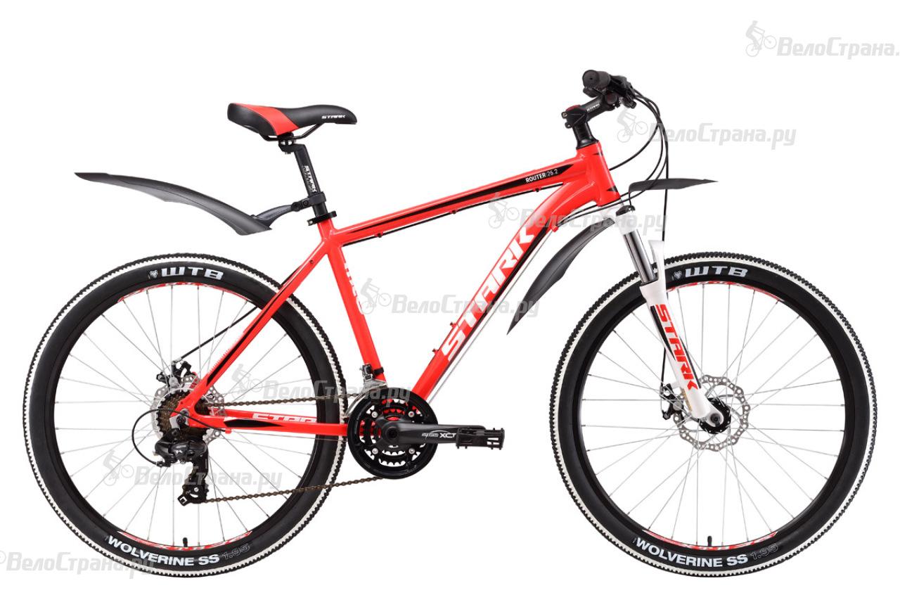 Велосипед Stark Router 26.2 D (2017) велосипед stark outpost 26 1 d 2018
