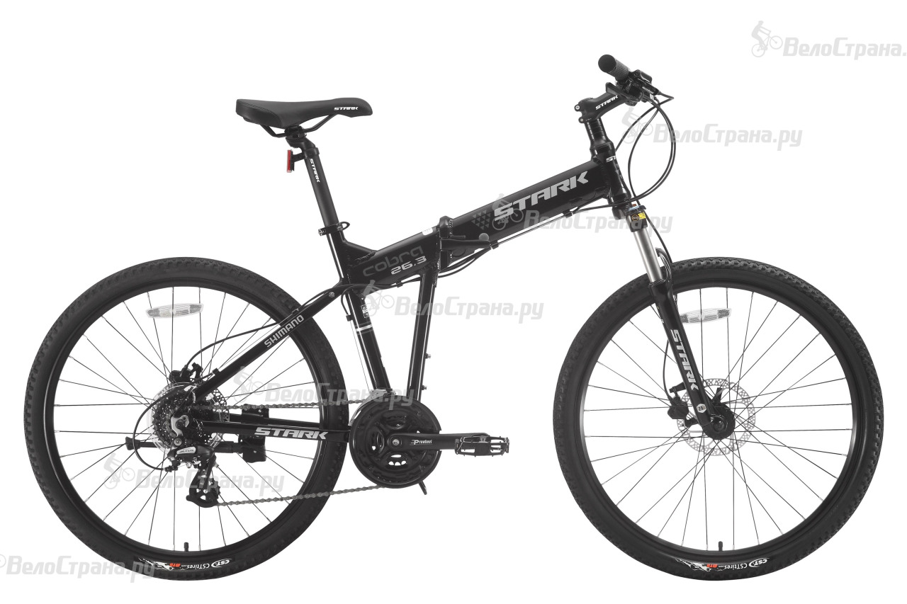Велосипед Stark Cobra 26.3 HD (2017) велосипед stark cobra 27 3 hd 2018