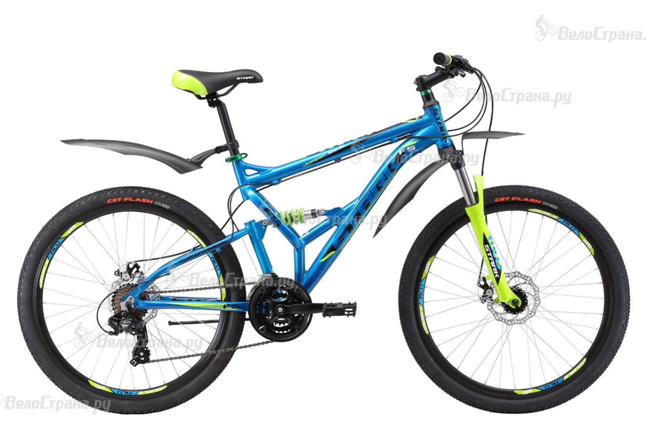 Велосипед Stark Jumper 26.2 FS D (2017) велосипед challenger mission lux fs 26 черно красный 16
