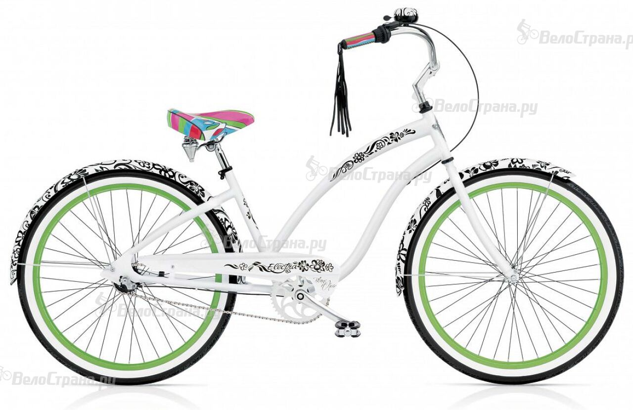 Велосипед Electra Cruiser Blanс et Noir 7i Ladies' (2017) tesla neon blanc 7 0 3g gold