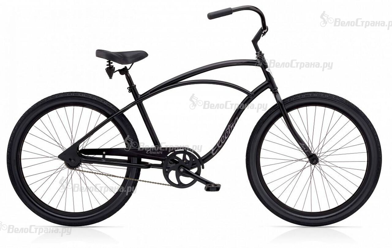 Велосипед Electra Cruiser Lux Mens (2017) велосипед challenger mission lux fs 26 черно красный 16