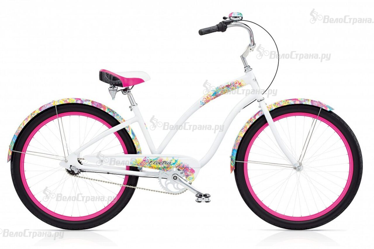 Велосипед Electra Cruiser Chroma 3i Ladies (2017) chroma подставка для ножей chroma type 301 p 13