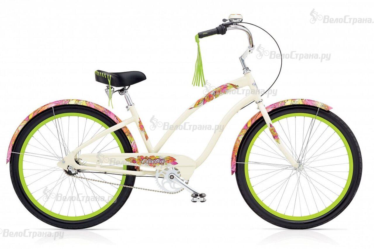 Велосипед Electra Cruiser Sans Souci 3i Ladies (2017) велосипед electra cruiser 3i ladies 2015
