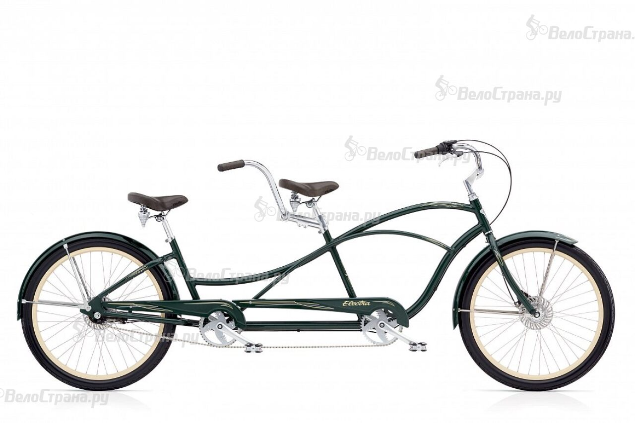 Велосипед Electra Swing Tandem 7i Forest Green (2017)