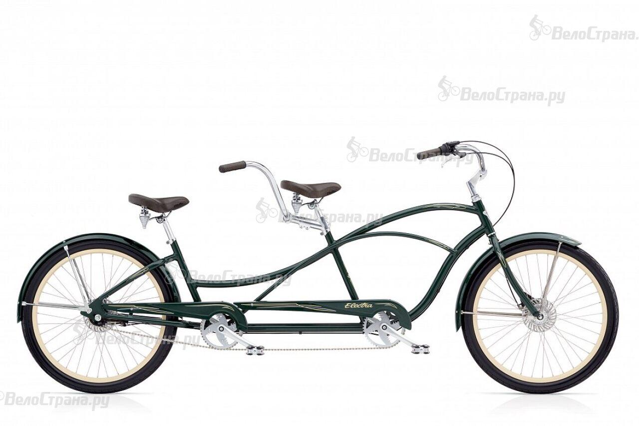 Велосипед Electra Swing Tandem 7i Forest Green (2017) велосипед electra hell betty tandem 7i 2017