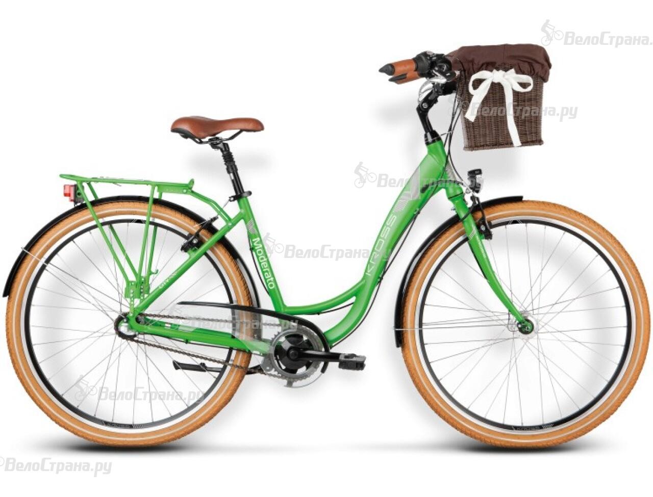 Велосипед Kross Moderato (2016) велосипед kross lea f4 2016