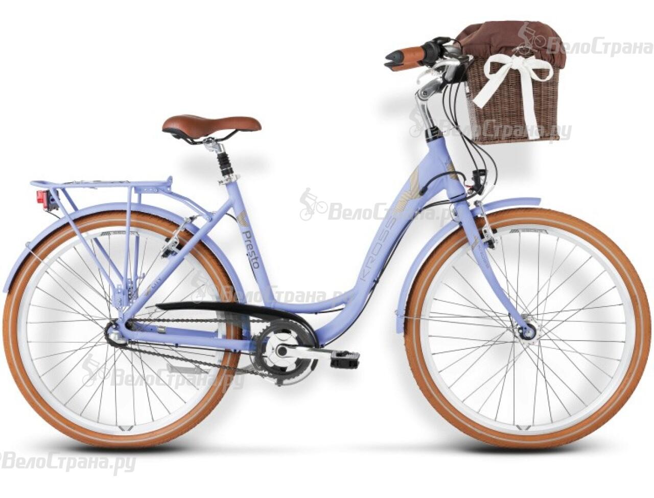 Велосипед Kross Presto (2016) велосипед kross moderato 2016