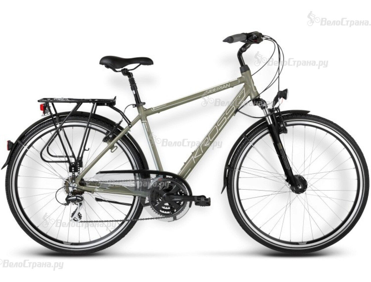 Велосипед Kross TRANS SIBERIAN (2016)