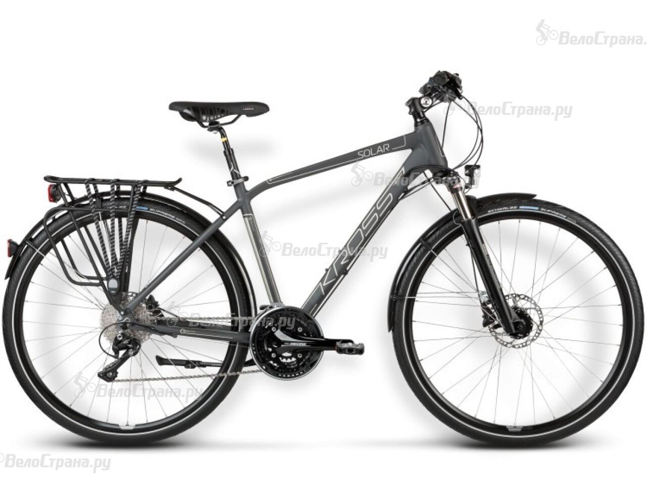 где купить Велосипед Kross TRANS SOLAR (2016) дешево