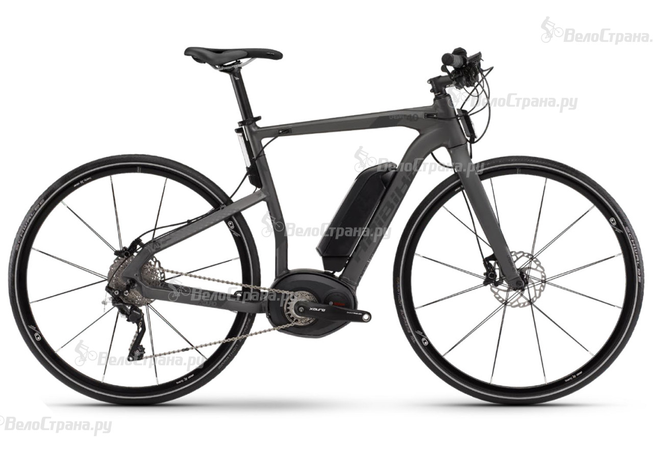 Велосипед Haibike Xduro Urban 4.0 (2017)
