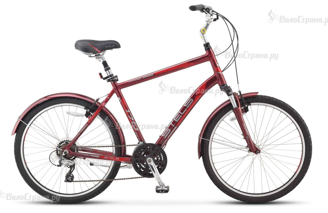 Велосипед Stels Navigator 170 Gent (2017) велосипед с корзиной stels navigator 380 gent 20 2015 black green