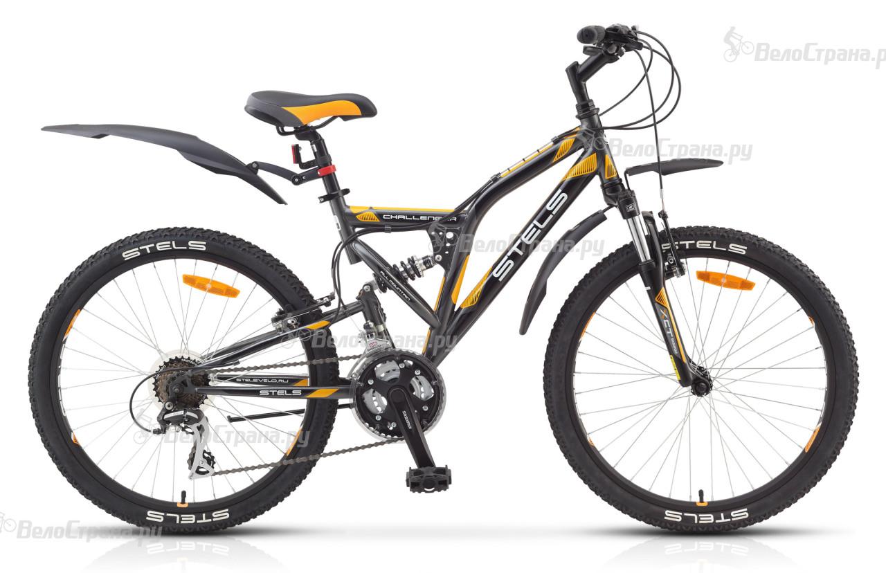 Велосипед Stels Challenger V 24 (2017) велосипед challenger agent 26 черно серый 16